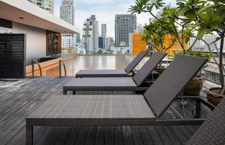 rooftop:  luxury motel
