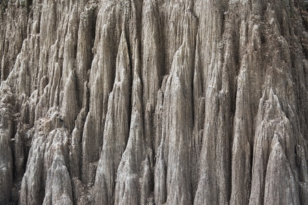 rock layers: Texture and background of canyon, Thailand  Close up of grey sandstone canyon, texture and background