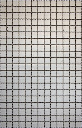 fluting: Grid line of metal fence pattern, Background, Abstract or Texture  Stock Photo