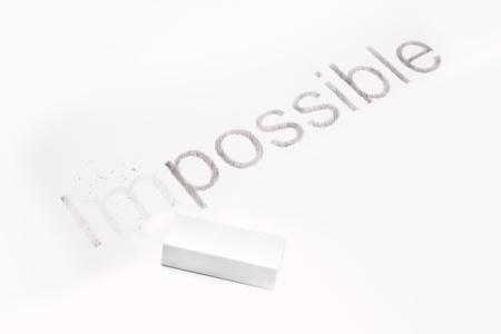 potentiality: Palabras imposibles y posibles, el concepto de hacer el cambio