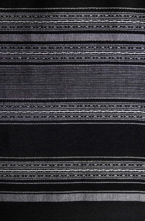 bedcover: Handmade Thai Cotton   Fabric Background, Abstract, Texture  Handmade Black and white Cotton in traditional style