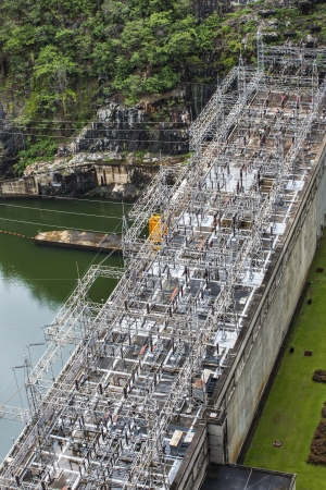 Electric Power Plant, Bhumibol Dam in Tak Province, Thailand  photo