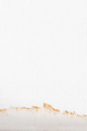 Real artist canvas coated by white primed, texture background  photo