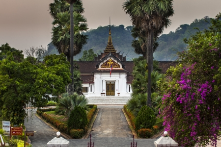 Royal Palace Haw Kham  in Luang Prabang, Laos
