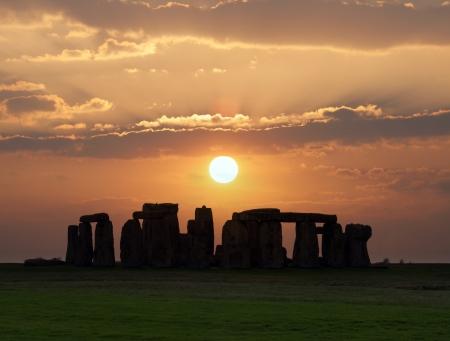 Stonehenge, un monument pr�historique en Angleterre patrimoine mondial de l'UNESCO du site de Stonehenge a �t� construit n'importe o� � partir de 3000 avant JC � 2000 avant JC