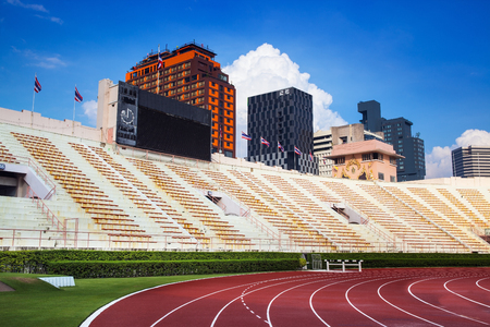 stadia: The National Stadium of Thailand or Suphachalasai Stadium, Bangkok  The National Stadium of Thailand is a sports complex located in Pathum Wan District, Bangkok  Editorial