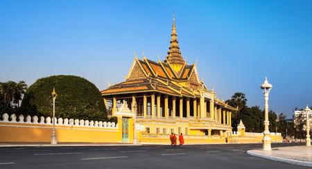 penh: Royal Palace and Silver pagoda, Phnom Penh, No 1 Attractions in Cambodia  This is the royal residence of the king of Cambodia  Silver pagoda is located on The Royal Palace