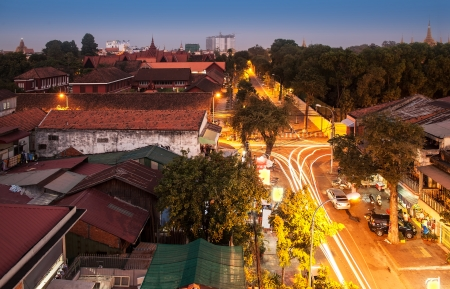 Urban City Skyline, Phnom Penh, Cambodge, Asie - Phnom Penh est la capitale et plus grande ville du Cambodge Phnom Penh est la capitale nationale depuis la colonisation fran�aise du Cambodge,