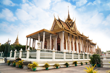 penh: Silver Pagoda, Royal Palace, Phnom Penh, No 1 Attractions in Cambodia  The Silver Pagoda or Wat Preah Keo, Wat Ubosoth Ratanaram or Preah Vihear Preah Keo Morakot is located on the south side of the Royal Palace, Phnom Penh