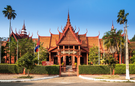 ethnographic: The National Museum of Cambodia  Sala Rachana  Phnom Penh, Cambodia  This is Cambodia s largest museum of cultural history and is the country s leading historical and archaeological museum