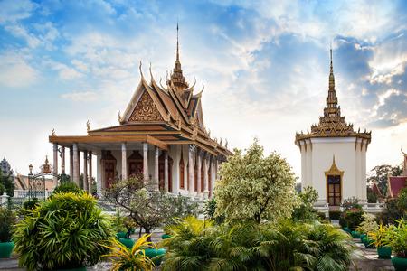 penh: Silver Pagoda, Royal Palace, Phnom Penh, No 1 Attractions in Cambodia  - The Silver Pagoda or Wat Preah Keo, Wat Ubosoth Ratanaram or Preah Vihear Preah Keo Morakot is located on the south side of the Royal Palace, Phnom Penh