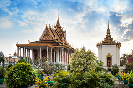Silver Pagoda, Royal Palace, Phnom Penh, No 1 Attractions in Cambodia  - The Silver Pagoda or Wat Preah Keo, Wat Ubosoth Ratanaram or Preah Vihear Preah Keo Morakot is located on the south side of the Royal Palace, Phnom Penh