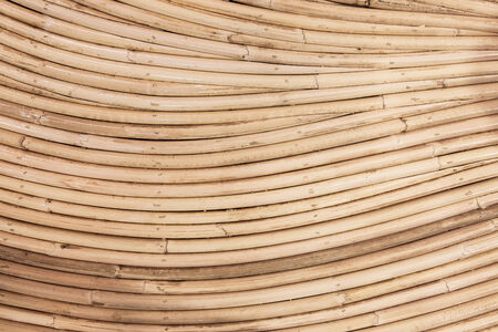 Curve rattan  wood  abstract, texture Stock Photo