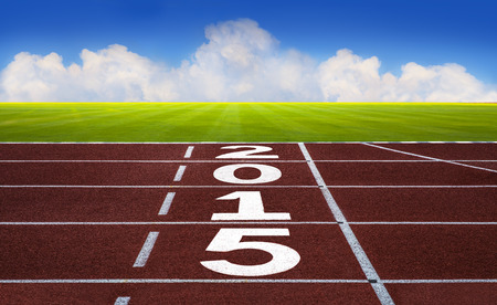 New year concept,  competition concept, sport concept. photo
