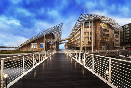 Astrup Fearnley Museum of Modern Art, Oslo, Norway. - Landmark and Contemporary art gallery in Oslo.