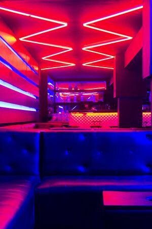 VIP zone at night club Reklamní fotografie