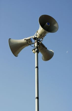 Public address system. Stock Photo - 469212