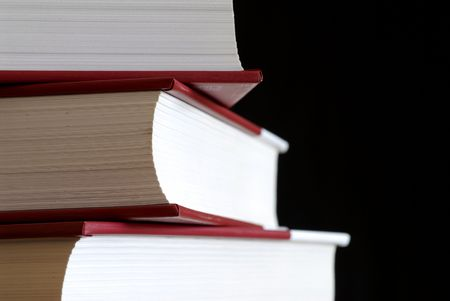 tomes: Pile of books. Stock Photo
