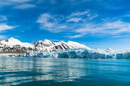 Paysage arctique dans la merveilleuse île de Svalbard - Norvège 2018