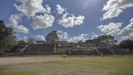View of astronomical observatory of Chichen Itza #2