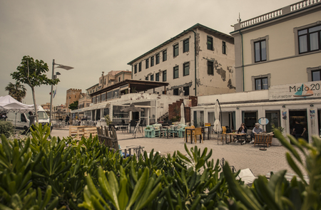 View of the historic center of the city of San Vincenzo in Italy #5