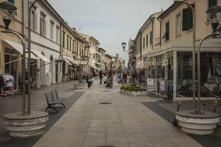 View of the historic center of the city of San Vincenzo in Italy #2