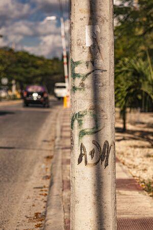 Dominicus Alleyway detail in Dominican republic