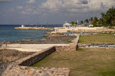 Dominican coast in Dominicus near Bayahibe