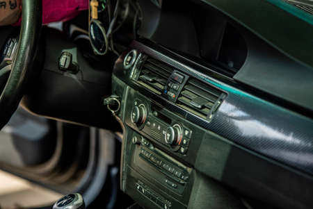 Center console of the car 3 免版税图像