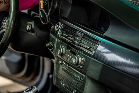 Center console of the car 3 Imagens