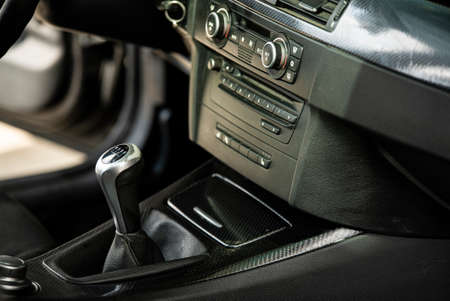 Car gear lever 3 Archivio Fotografico