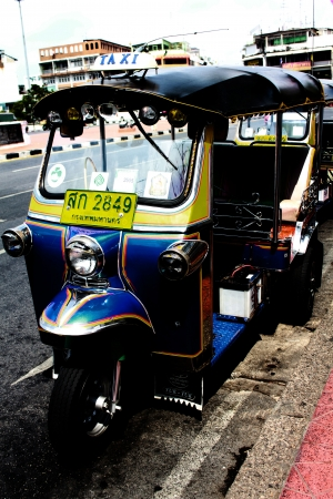 three wheeler: taxi of Thailand