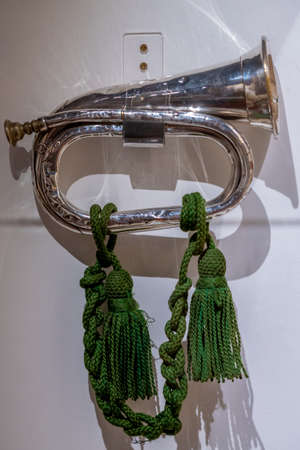 Military Bugle used for army traditions back in WW1