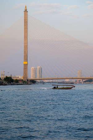 rama: Rama 8 Bridge  River