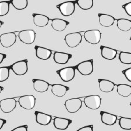 fashion glasses: Seamless vector background with glasses