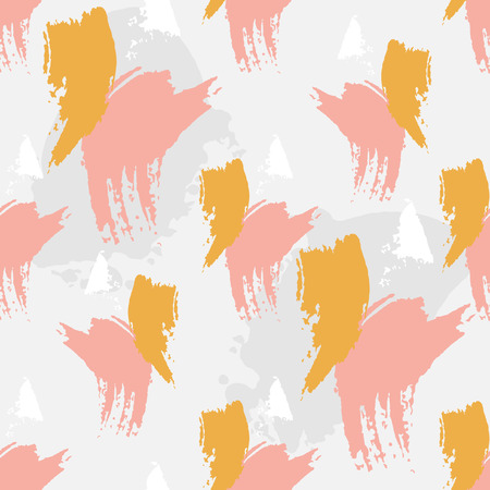spotted: Abstract spotted vector seamless pattern