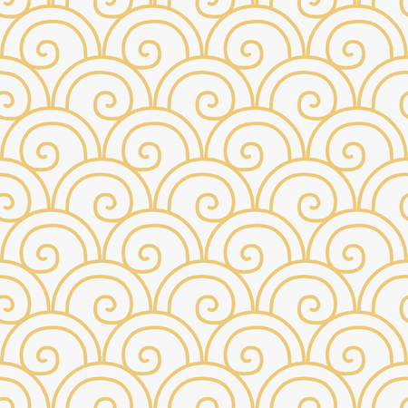 Neutral vector seamless pattern in vintage style