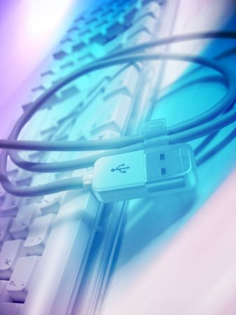 usb connection cable Stock Photo - 368959