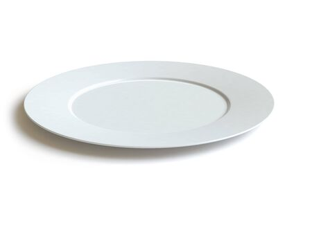 famine:   empty dish Stock Photo