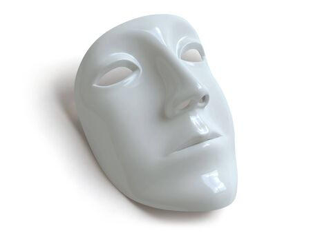 frowning: mask