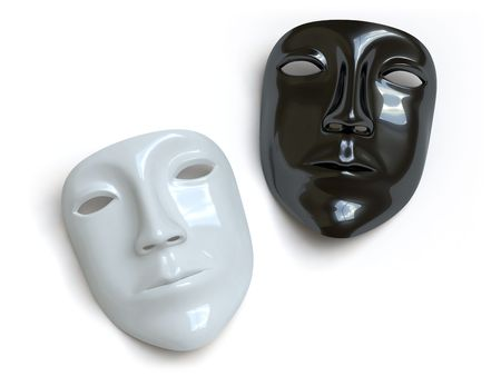 theater man: mask