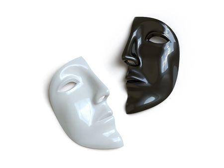 theater man: mask