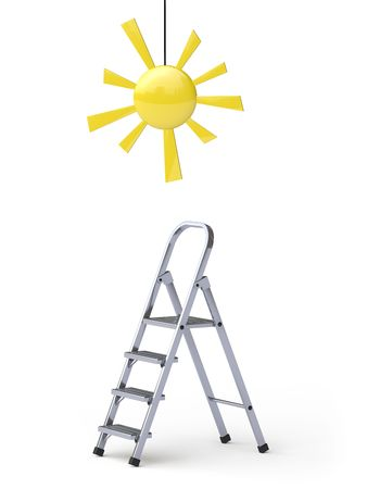 sunstroke: sun Stock Photo