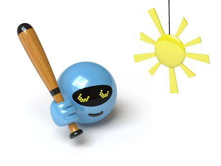 sunstroke: robot