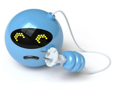 disconnecting: robot