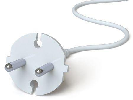 electric plug Stock Photo - 6498740