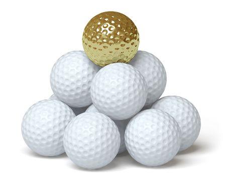 golf ball Stock Photo - 6589273