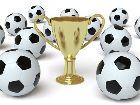 worldcup: cup Stock Photo