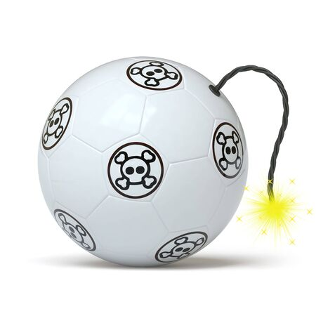 cruelty: soccer ball