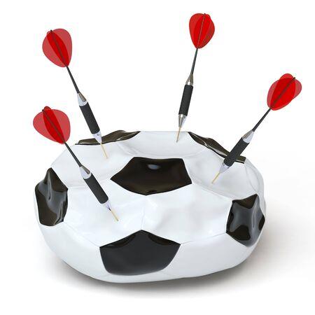 nonworking: soccer ball